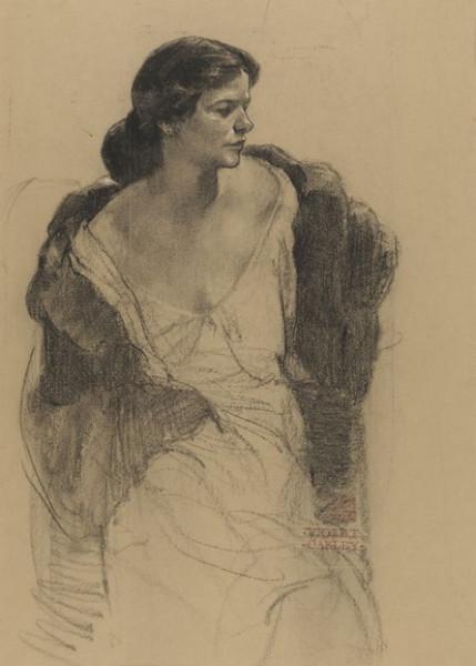 Violet Oakley - Mary Townsend Mason