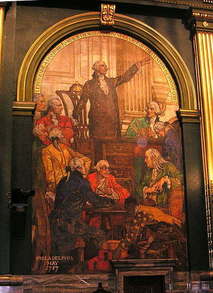 Violet Oakley - The murals in the Pa State Capitol Building