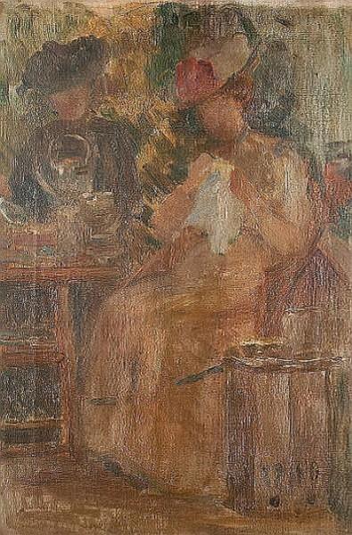 Robert Ponsonby Staples - Taking tea