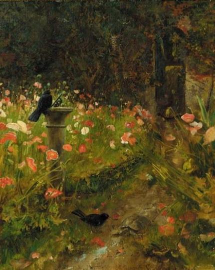 Robert Ponsonby Staples - The Poppy Garden