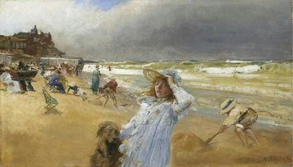 Robert Ponsonby Staples - On the Beach Broadstairs Kent