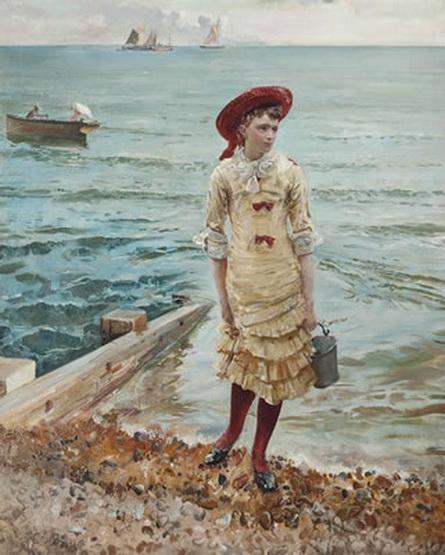 Robert Ponsonby Staples - At the Seaside