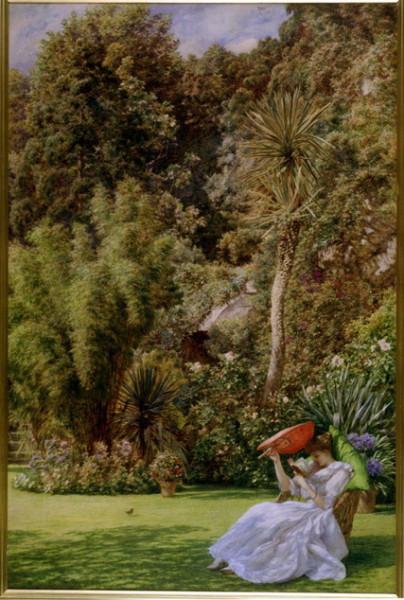 Edward John Poynter - In a Garden