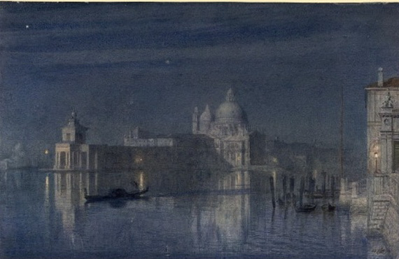 Edward John Poynter - venice moonlight
