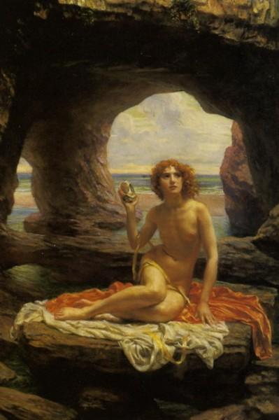 Edward John Poynter - at low tide