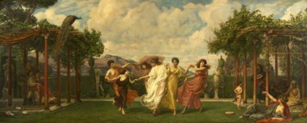 Edward John Poynter - horae serenae