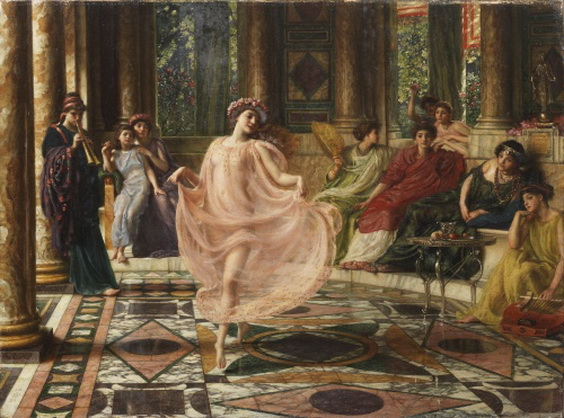 Edward John Poynter - the ionian dance