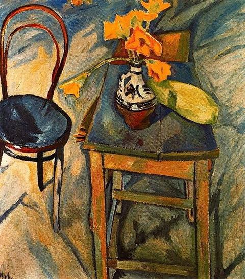 Mikhail Larionov - Bouquet aux Fleurs Jaunes