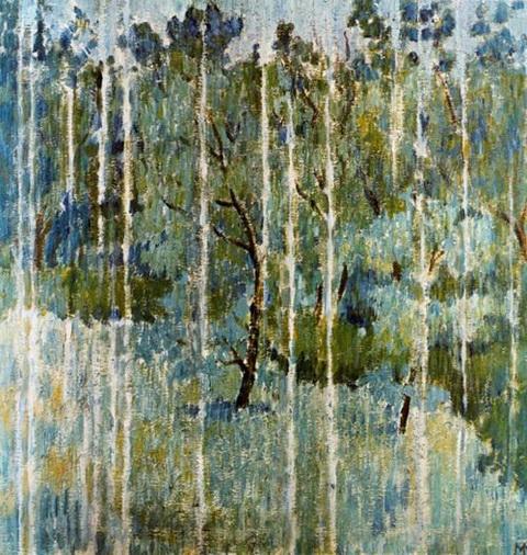 Mikhail Larionov - Rain