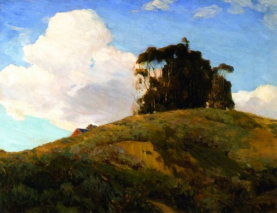 Jean Mannheim - Eucalyptus on a Hill