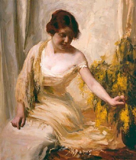 Jean Mannheim - Portrait of a woman