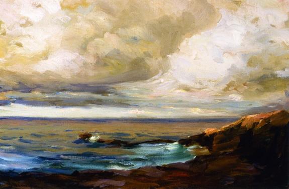 Jean Mannheim - Clouds over Laguna Coast