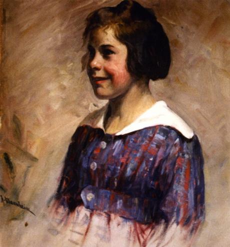 Jean Mannheim - Sketch of Carolyn Drennan