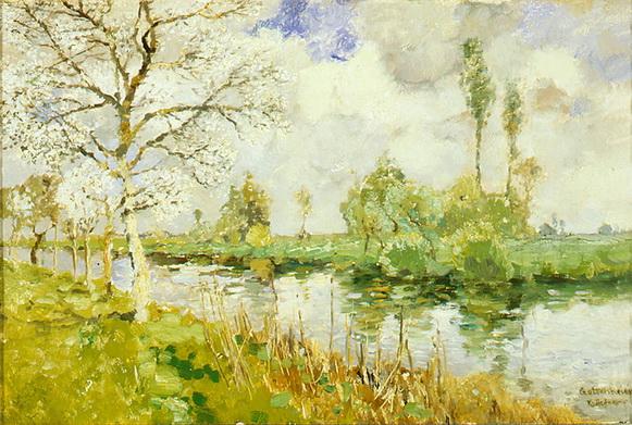 Karl Heffner - Spring, Gottenheim