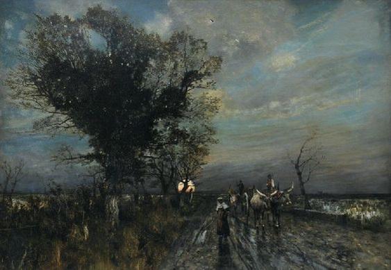 Karl Heffner - The rising moon
