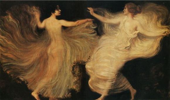 Franz von Stuck - Dancers