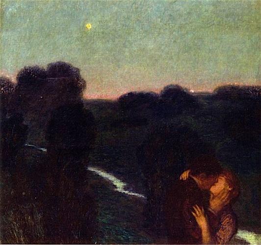 Franz von Stuck - Der Abendstern
