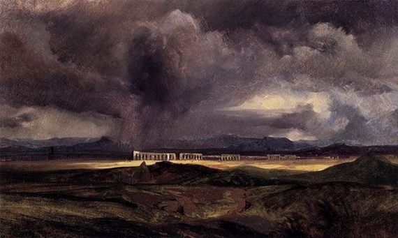Arnold Bocklin - The Storm
