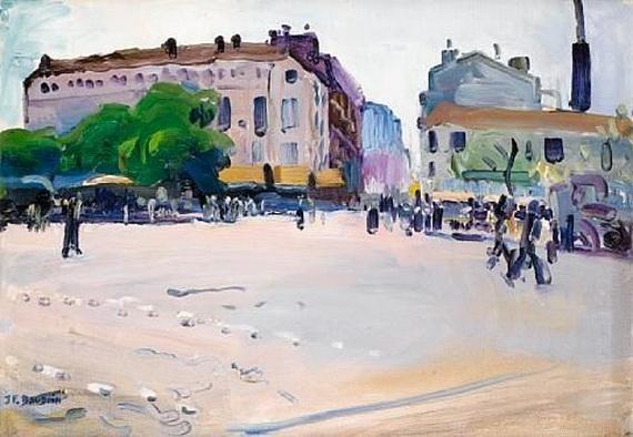 Jean-Franck Baudoin -  Place de la Bataille, Paris