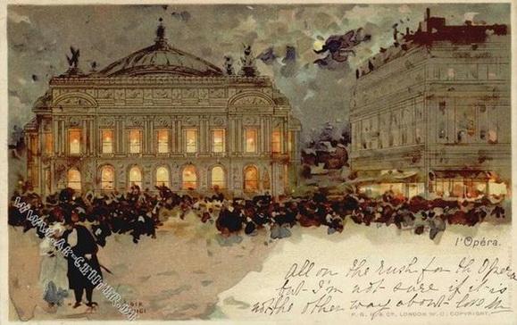 Francois-Joseph Loir - Paris L'Opera