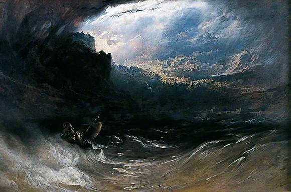 John Martin - Christ Stilleth the Tempest