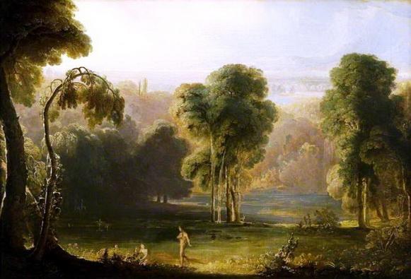 John Martin - Adam's First Sight of Eve