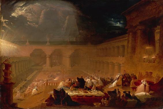 John Martin - Belshazzar's Feast