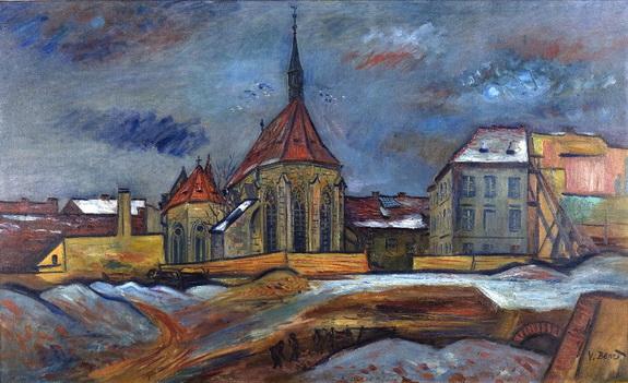 Vincenc Benes - Kostel sv. Frantiska.