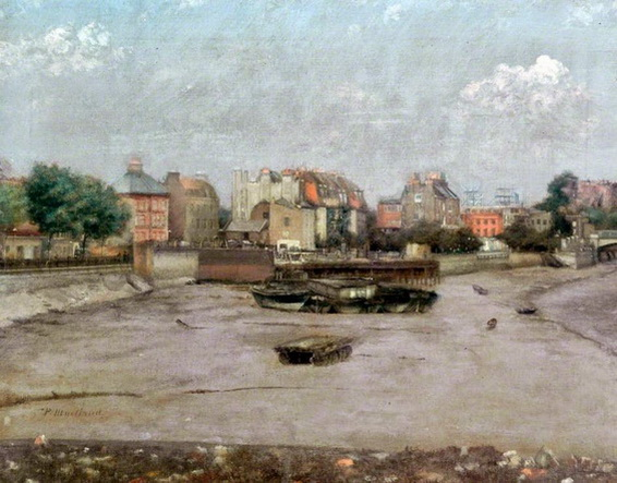 Paul Maitland - Chelsea Embankment from the River