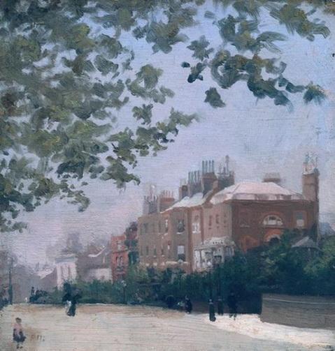 Paul Maitland - The Corner of Beaufort Street