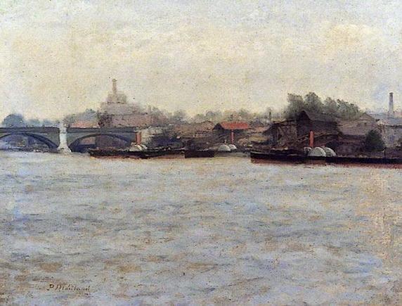 Paul Maitland - The Thames Above Battersea Bridge