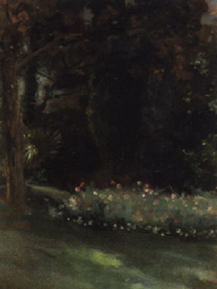 Theodore Roussel - the garden at belfield house