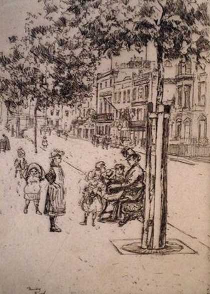 Theodore Roussel - Chelsea Children
