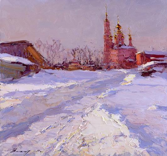 Захаров Андрей - Мартовский вечер в Михалях