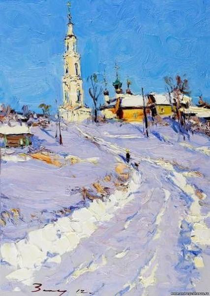 Захаров Андрей - Зимняя дорога  Тетеринское