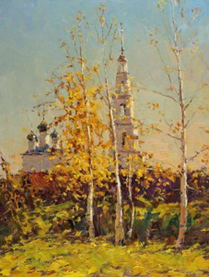 Захаров Андрей - Осень в Тетеринском