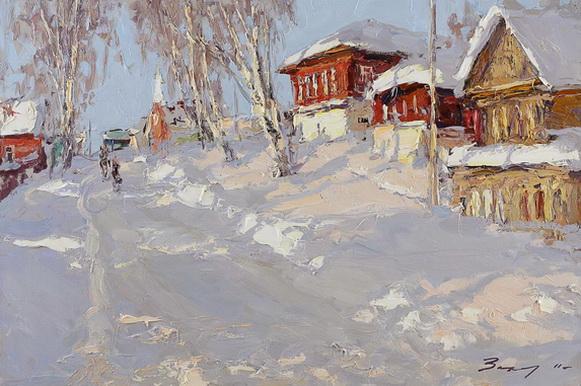 Захаров Андрей - Январь в Нерехте