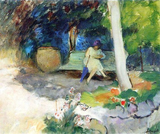 Henri Lebasque - In the Garden