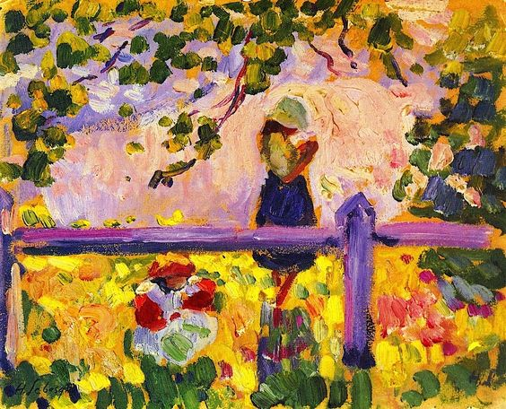 Henri Lebasque - Girls in the Garden
