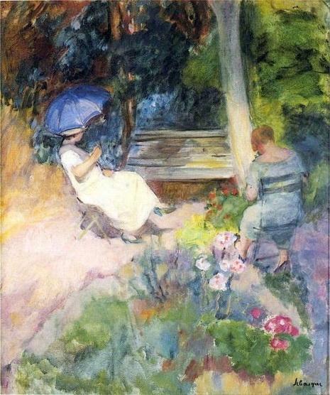 Henri Lebasque - The Garden