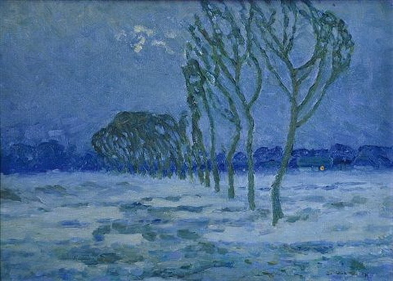 Ullmann Josef - Blue winter