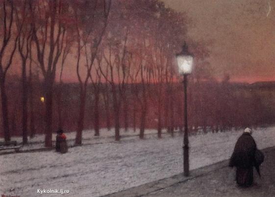 Jakub Schikaneder -  Evening Feeling