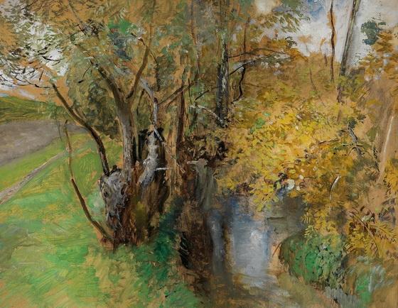 Marie Egner - Woodland Stream