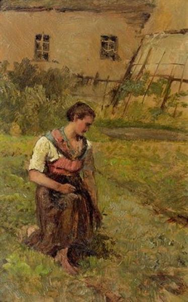 Marie Egner - Die junge Gartnerin