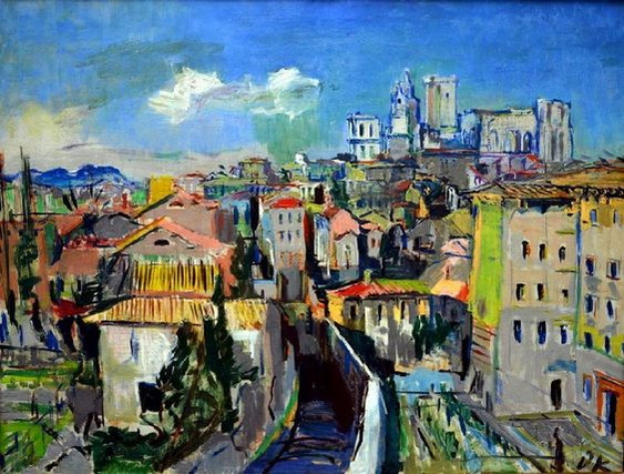 Oskar Kokoschka -  Avignon