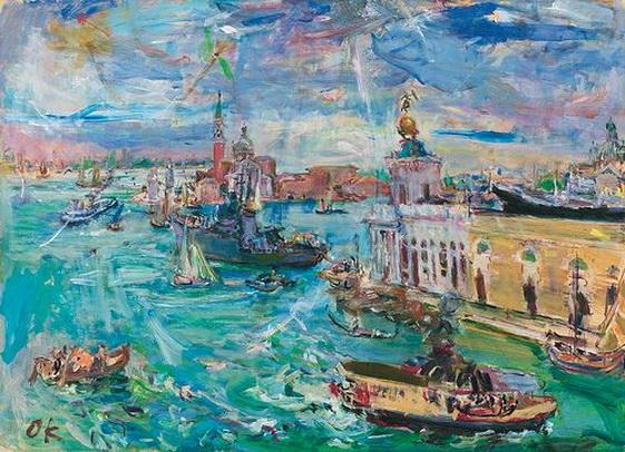 Oskar Kokoschka - Venice, Bacino di san Marco