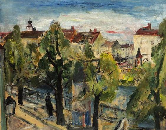 Wilhelm Thony - Motiv aus Graz