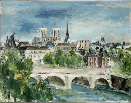 Wilhelm Thony - Paris le de la Cit