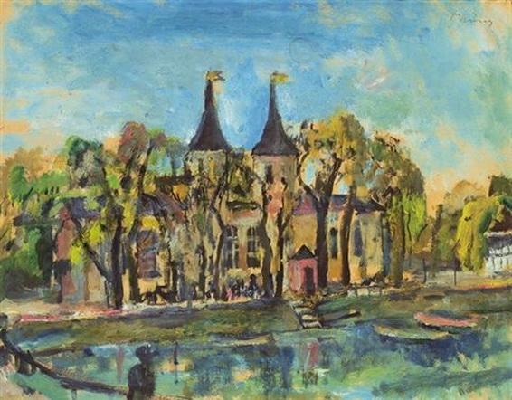 Wilhelm Thony - Der Hilmteich in Graz