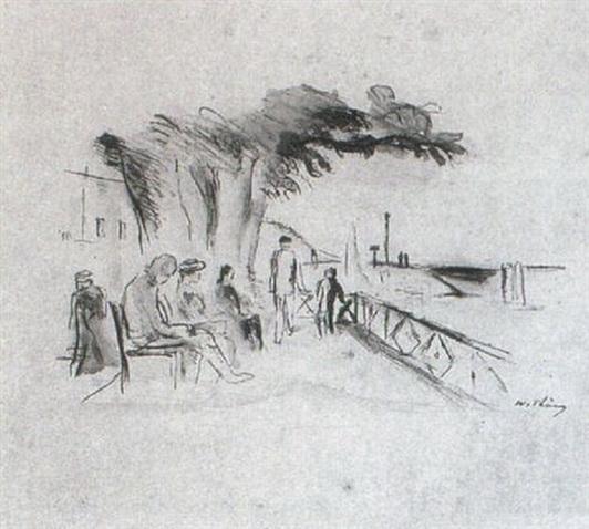 Wilhelm Thony - Promenade